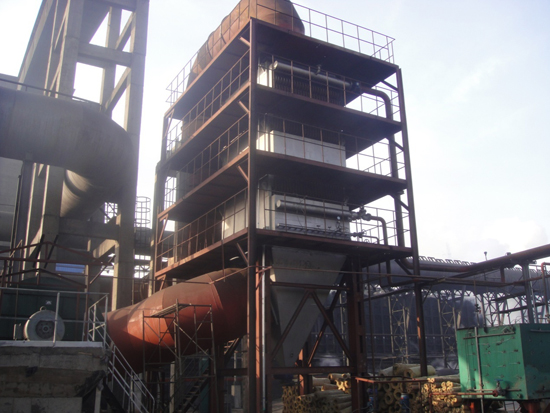 50万吨焦化炉余热锅炉