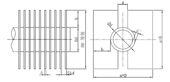 余热锅炉采用强制循环即汽,水工质在管内是依外力(给水泵