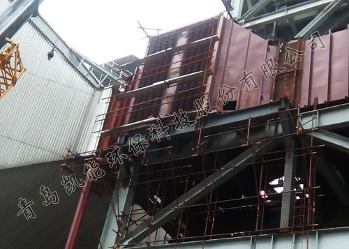 沁北低温省煤器现场