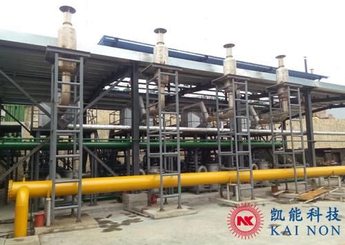 500KW发电机组余热热水锅炉
