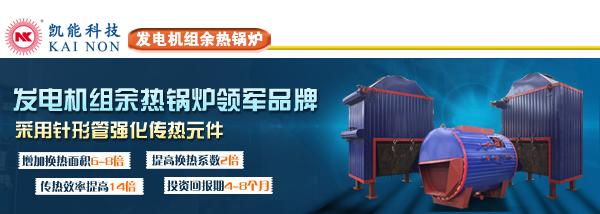 发电机组热水余热锅炉
