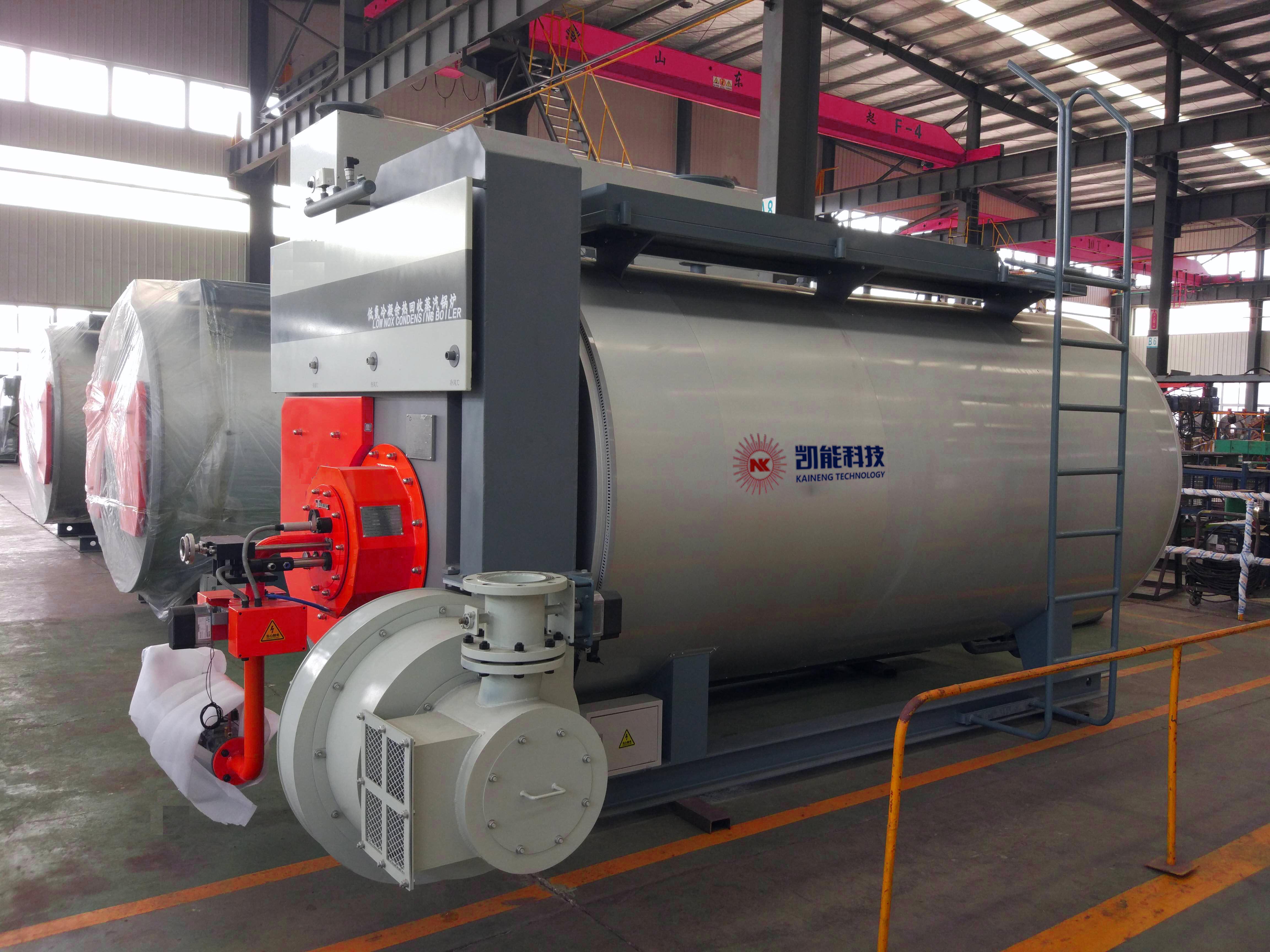 蒸汽锅炉生产现场