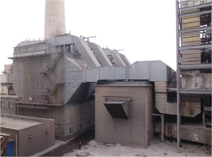 宁夏大坝低温省煤器