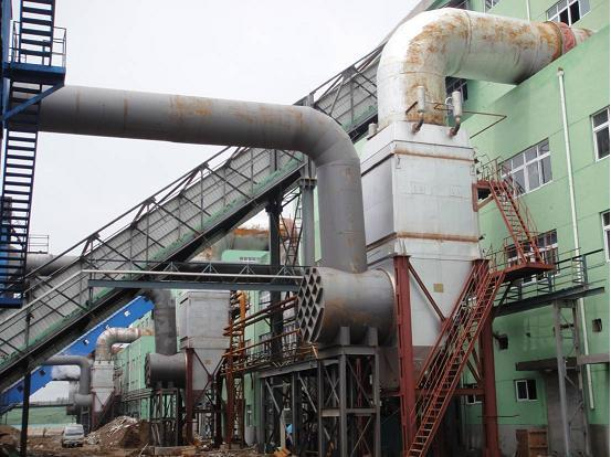 硅锰合金矿热炉余热锅炉