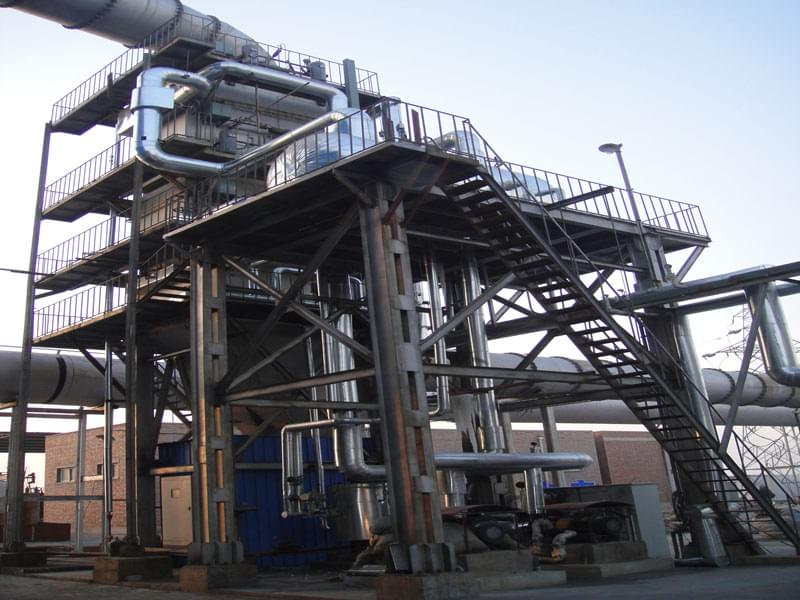 硅钙/硅钡合金矿热炉余热锅炉