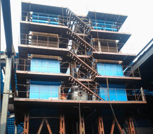 重庆2*16500KVA硅锰合金矿热炉余热锅炉运行