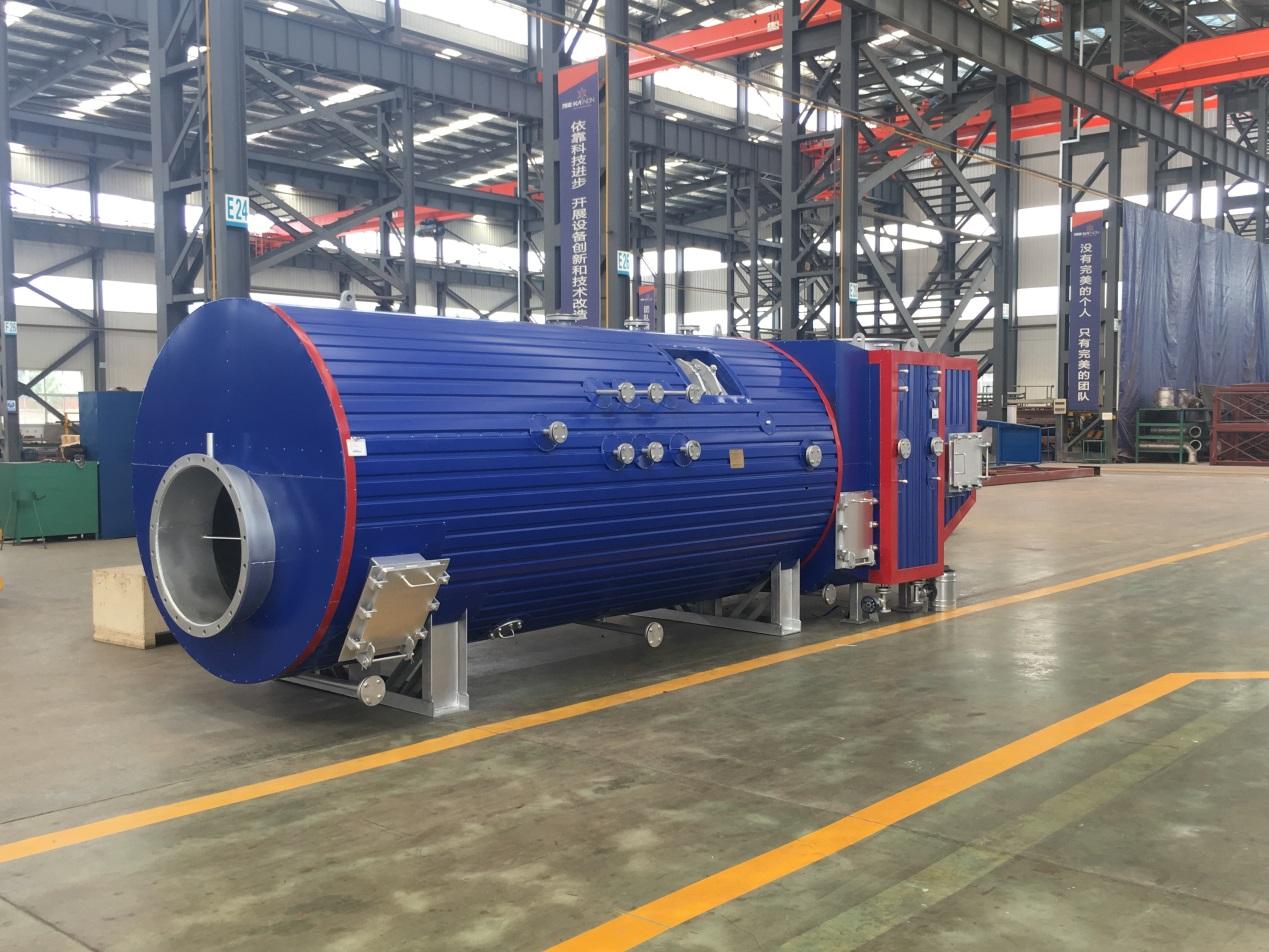 广东力宇新能源青岛项目3T余热锅炉项目