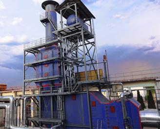 成庄46MW&18MW瓦斯发电余热发电锅炉项目