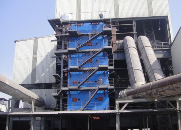宁夏硅钙矿热炉余热锅炉投产运行