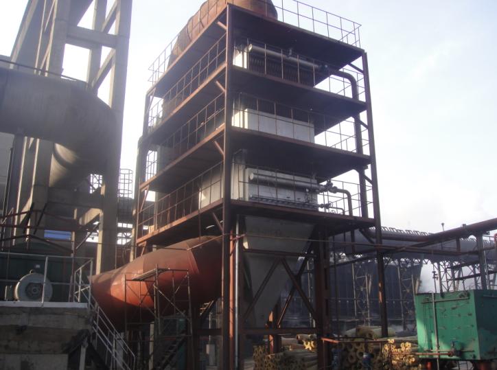 60万吨焦化炉余热锅炉成功运行
