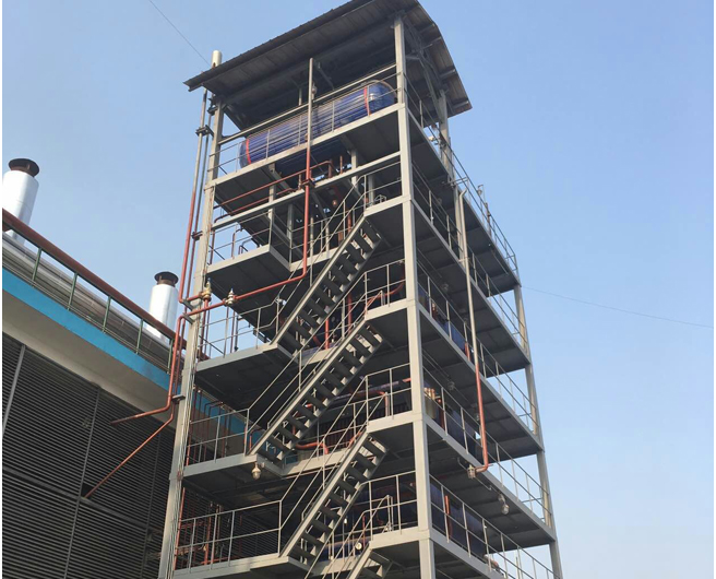 山西凯嘉煤层气发电二期工程余热蒸汽锅炉项目