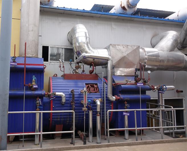 山西兰金瓦斯发电机组烟气余热利用研发项目