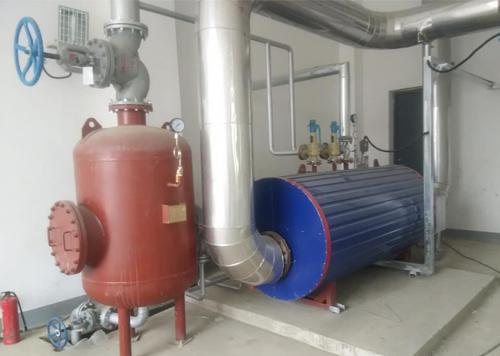 常州杭能沼气发电项目-燃气发电机组余热锅炉持续运行
