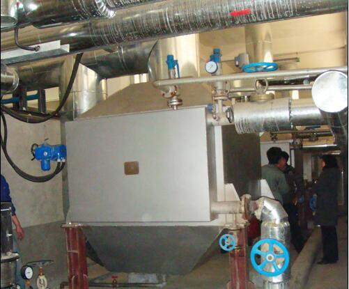 山东民和牧业立式针形管发电机组余热锅炉
