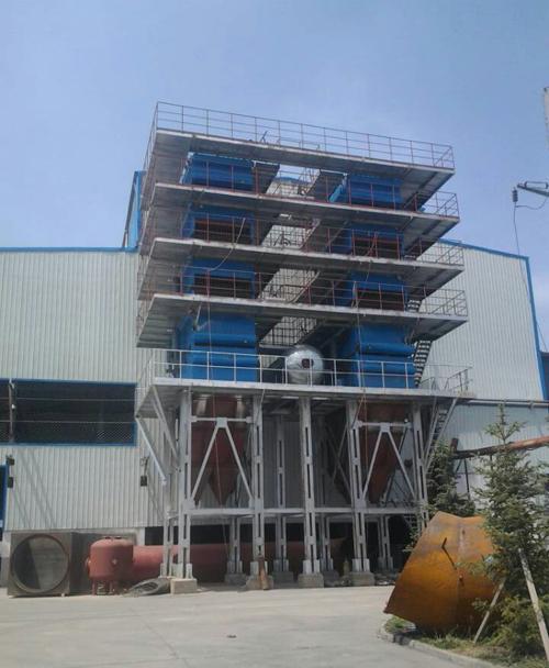 青海华鑫硅业18500KVA矿热炉烟气余热利用项目