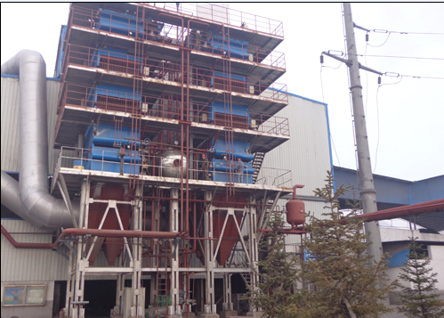青海长源12500KVA硅铁矿热炉烟气余热利用项目