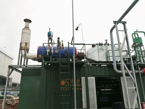 陕西长青能源600KW燃气发电机组余热利用项目