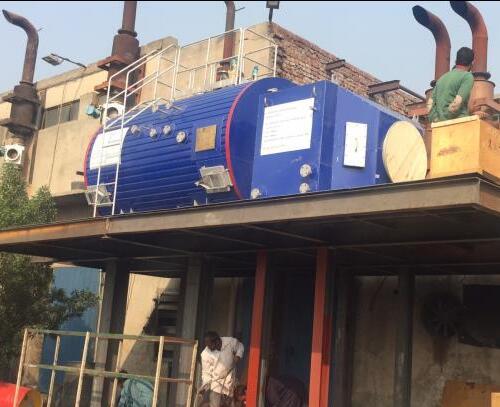 巴基斯坦燃气发电机组3T余热利用设备项目顺利交付
