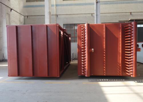 泰安鲁邦大河热电130t/h循环流化床锅炉MGGH低低温省煤器项目