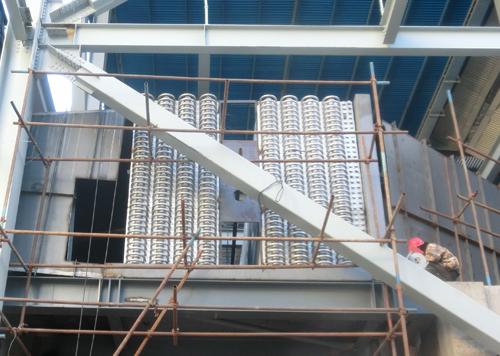 内蒙古乌拉特电厂2X300MW机组低低温省煤器改造项目