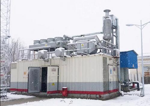 江苏宝应协鑫沼气发电项目600KW发电机组余热利用设备投产运行