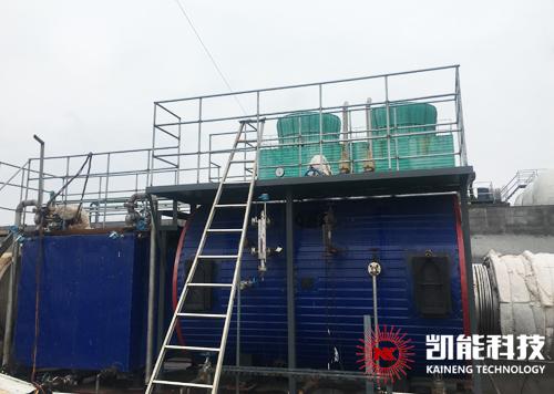 日照金禾博源3500KW沼气发电机组烟气余热锅炉系统