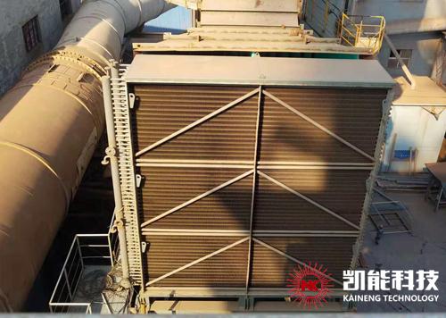 天津天丰钢铁股份有限公司烧结机烟气脱硝工程烟气换热器安装调试