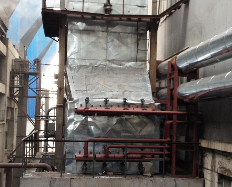 116MW发电机组H型鳍片管低温省煤器