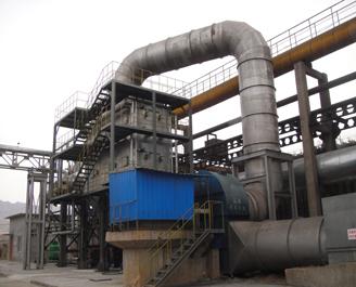 120万吨焦化炉余热锅炉