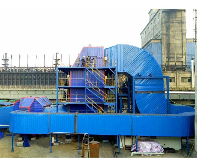 150万吨焦化炉余热锅炉