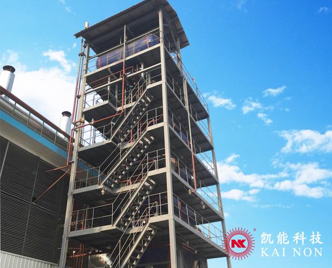 多合一立式发电机组余热发电锅炉