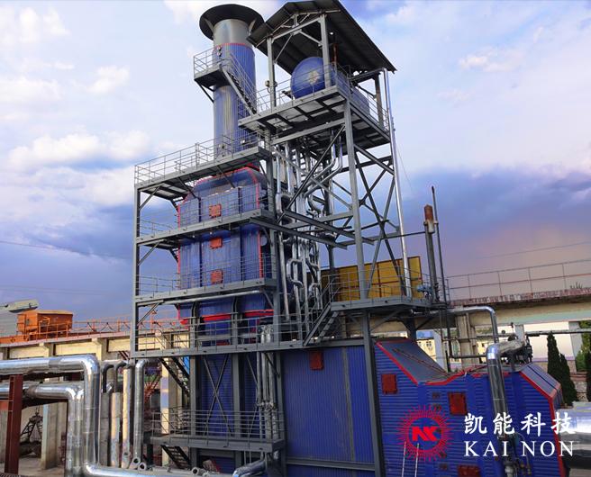 多合一燃气内燃发电机组余热锅炉