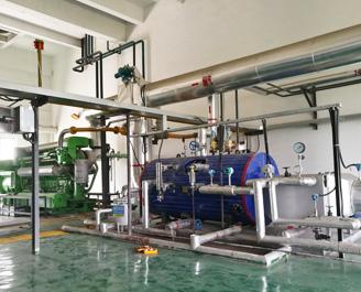 1000kW 沼气发电机组余热锅炉