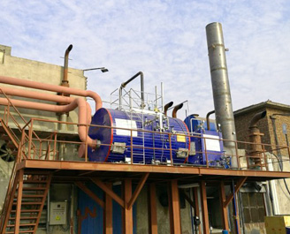 燃气发电机组多合1余热蒸汽锅炉