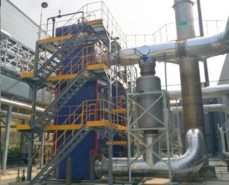 3000kW /4000kW沼气机发电机组多合一废气余热锅炉